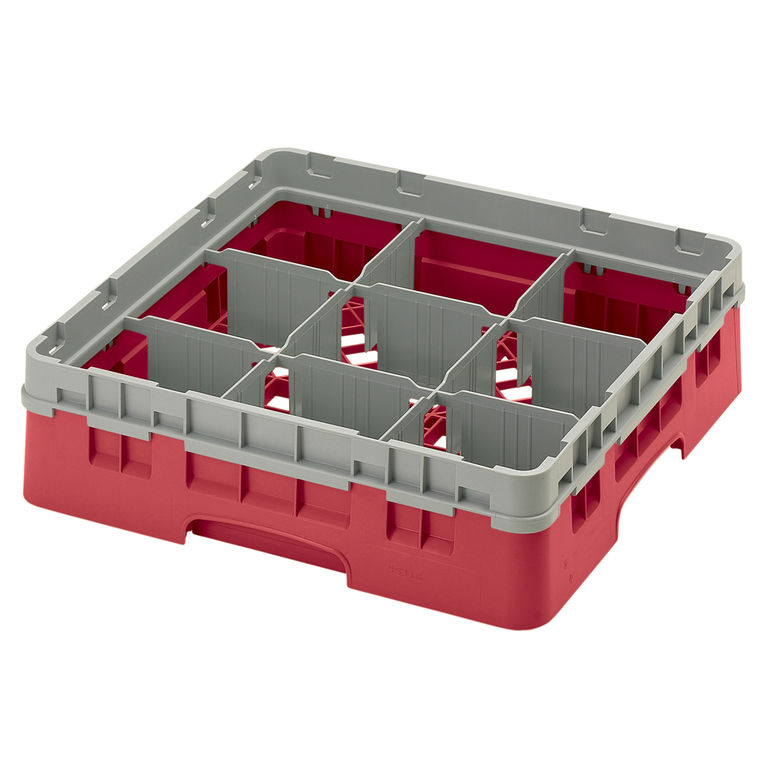 Red 9 Compartment Camrack