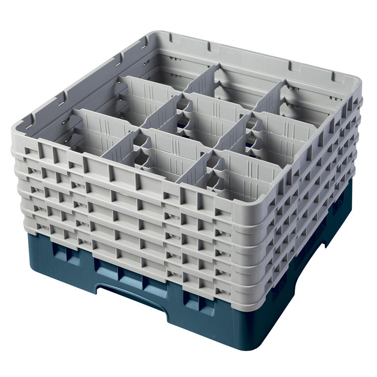 Teal 9 Compartment Camrack