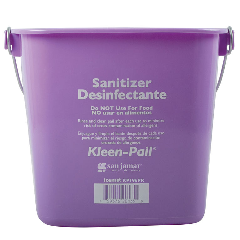 Purple Kleen Pail