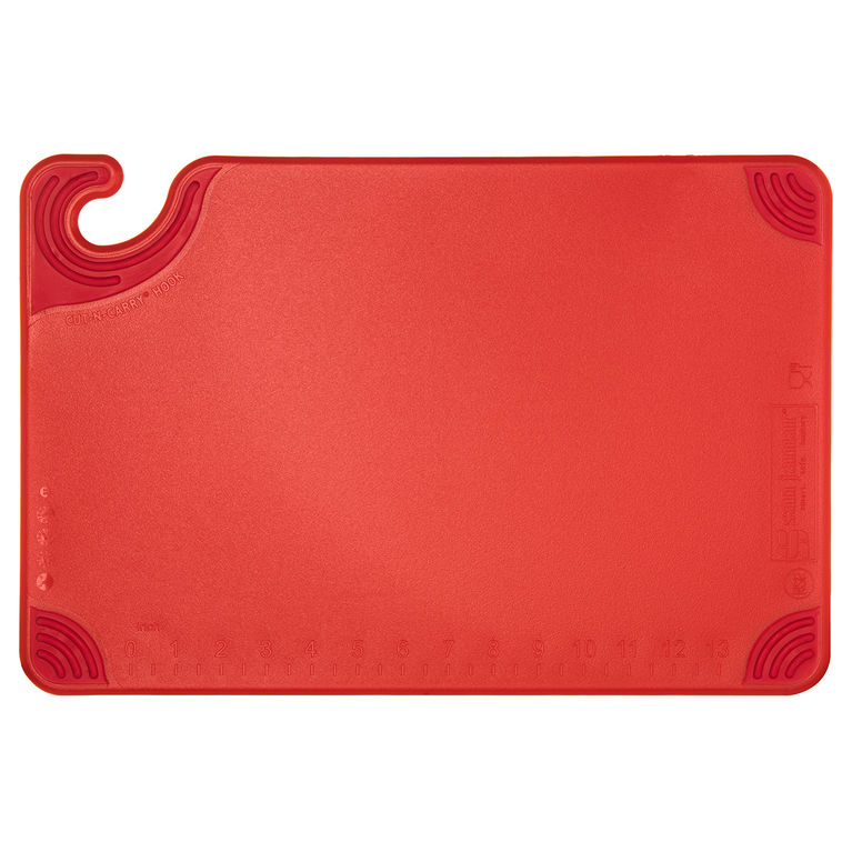 Saf-T-Grip® Chopping Board Red