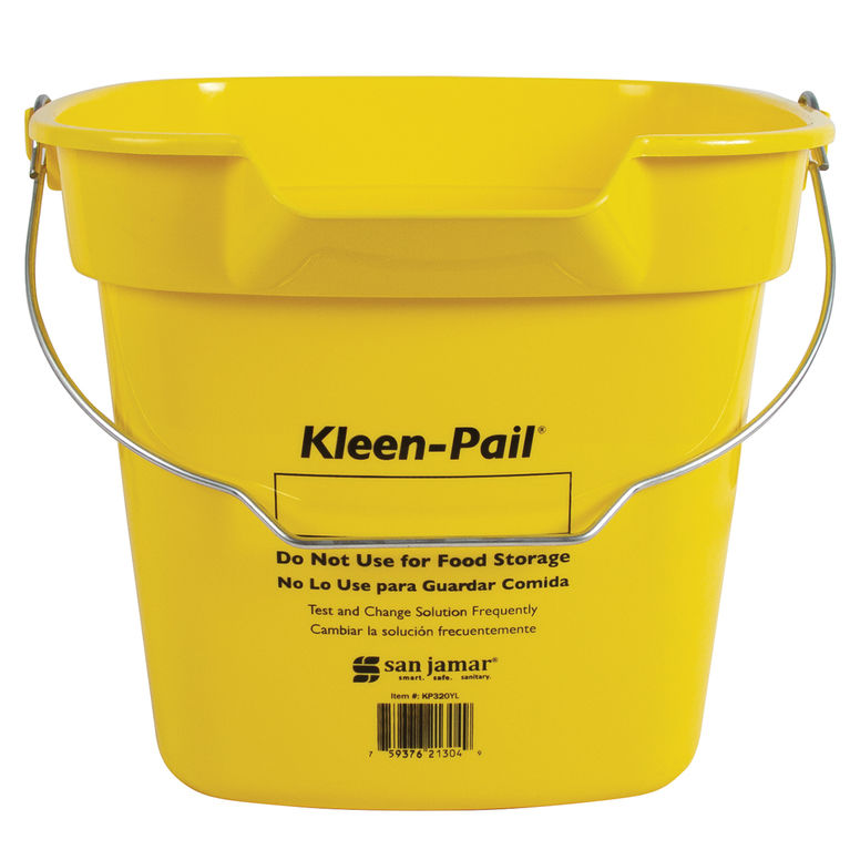 Yellow Kleen Pail