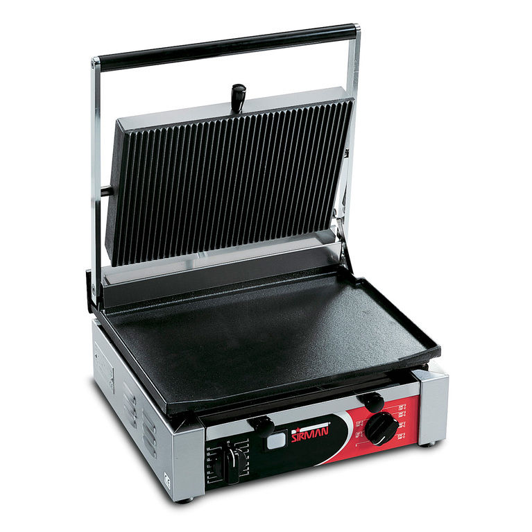 Cort Large Flat/Ribbed Single Panini Grill