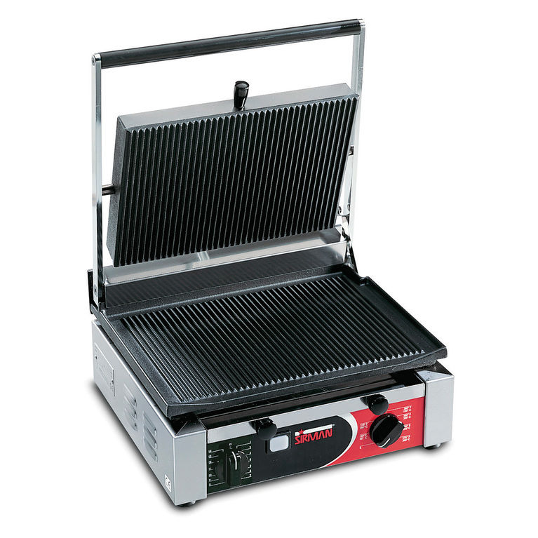 Cort Large Ribbed Single Panini Grill