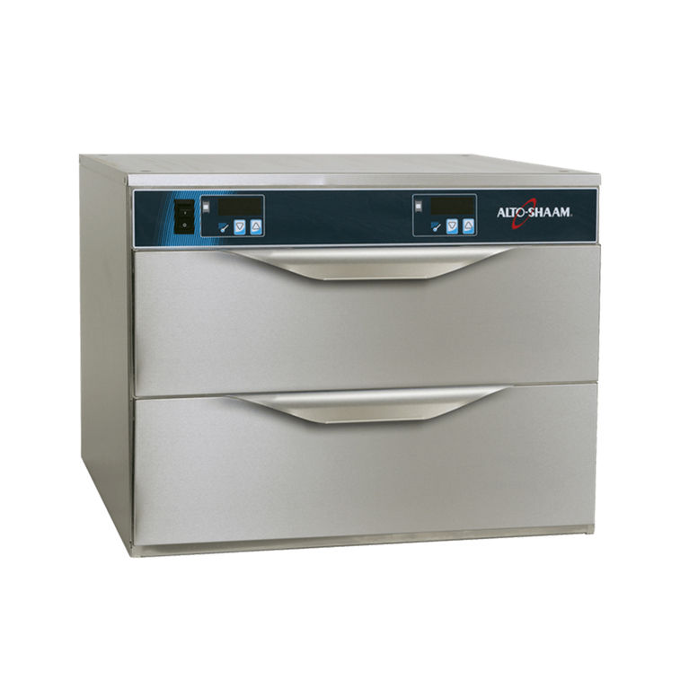 Two Drawer Warmer with Individual Controls