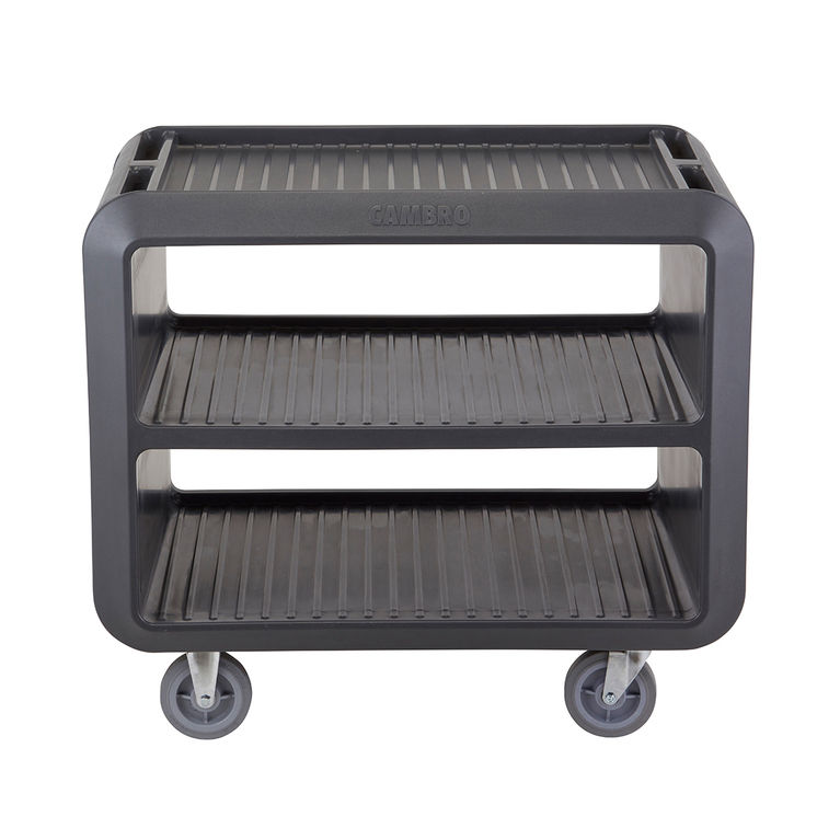 Charcoal Grey Service Cart Pro