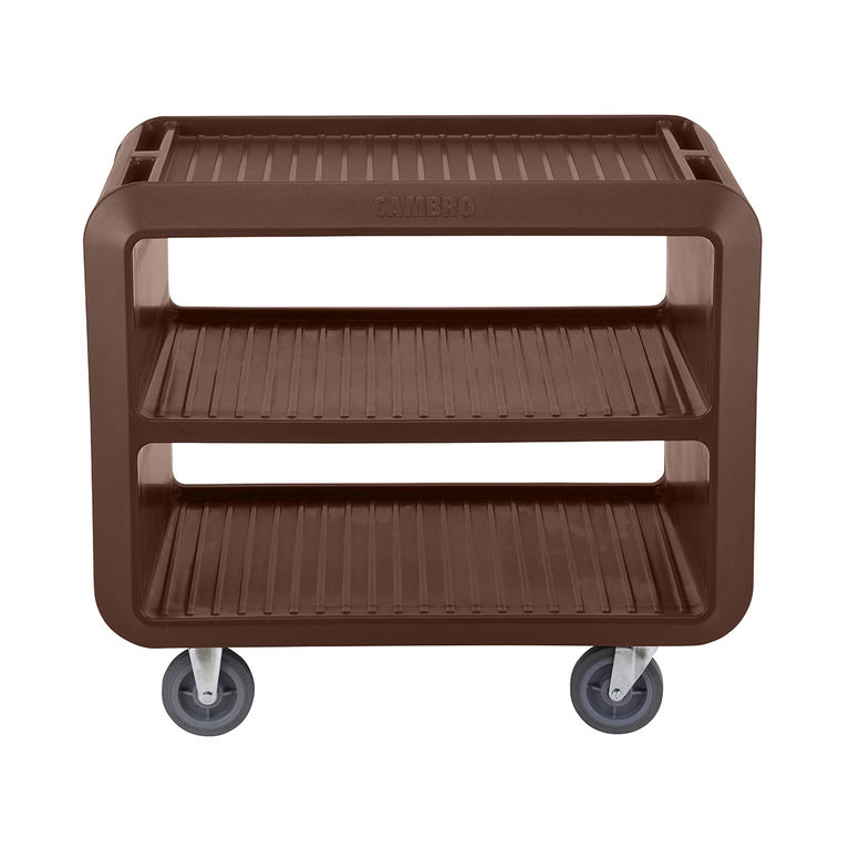 Dark Brown Service Cart Pro