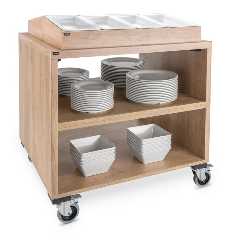 Cutlery Dispenser Trolley